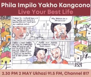 Phila Impilo Yakho Kangcono. Live your Best Life. 2.30pm 2 May Ukhozi 91.5 FM, Channel 817